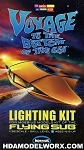 Flying Sub Lighting Kit for the Moebius Models' Flying Sub model kit #817 by Moebius